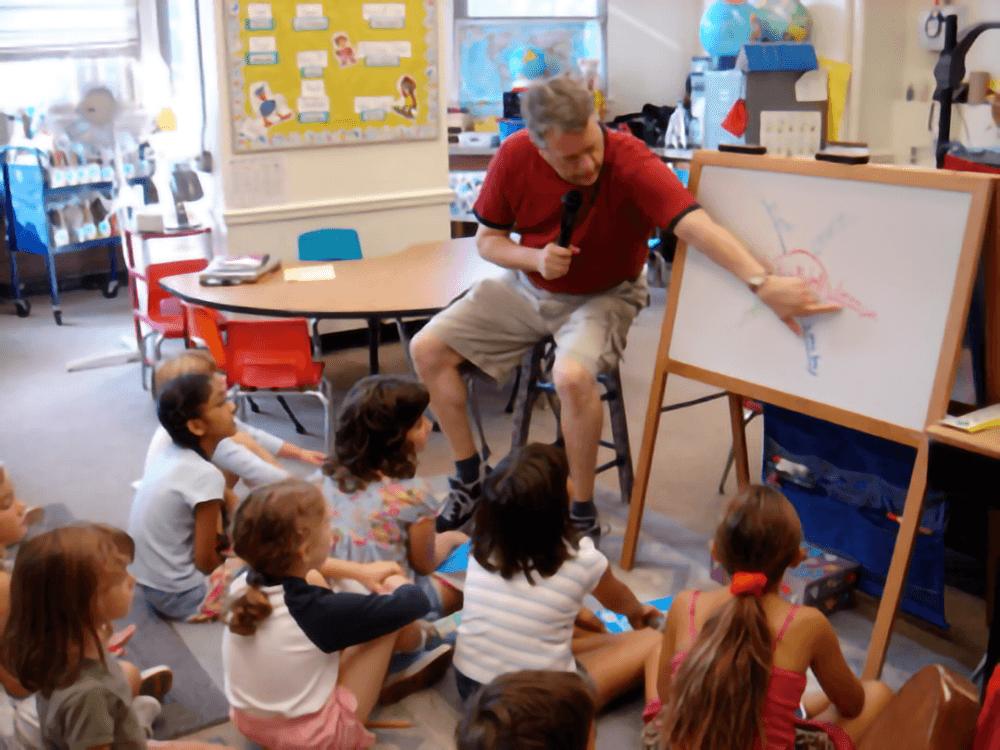 Steve Teaching Writing Workshop