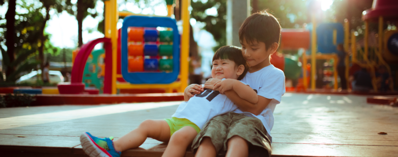 Kids Playground Hug