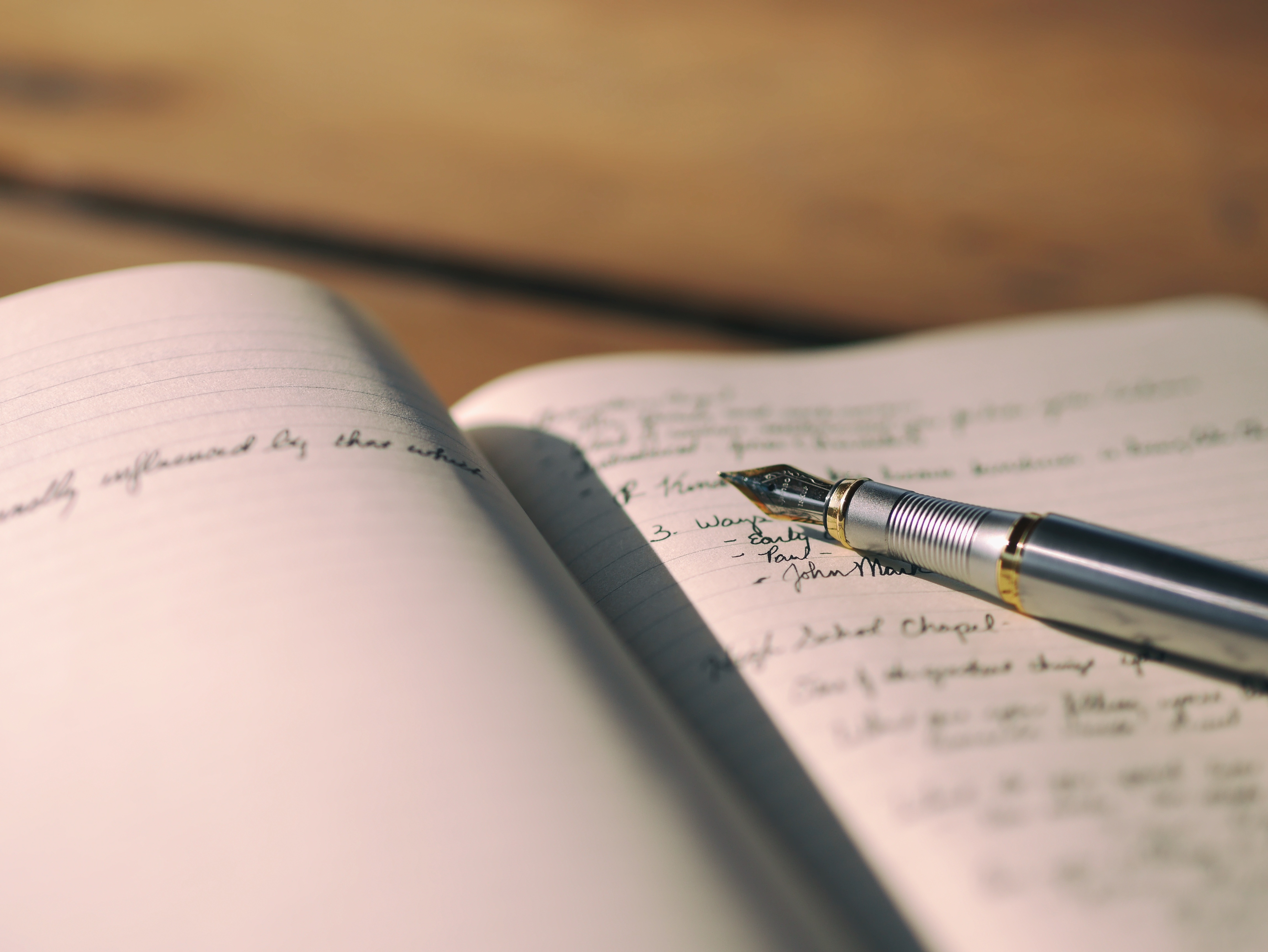 Pen Notebook