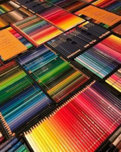 Colored Pencils Stack