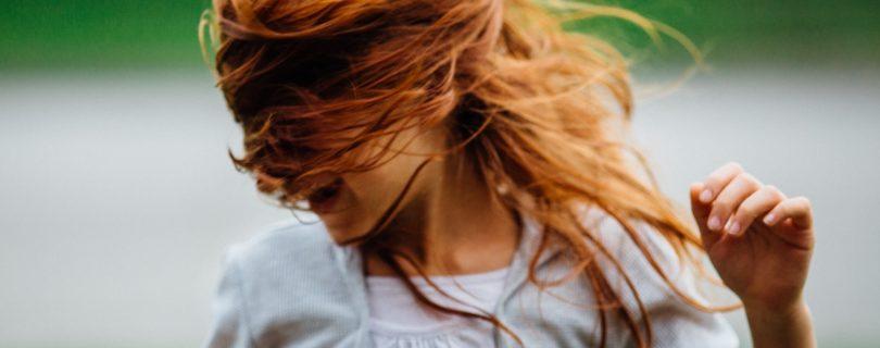 Red Hair Swirl